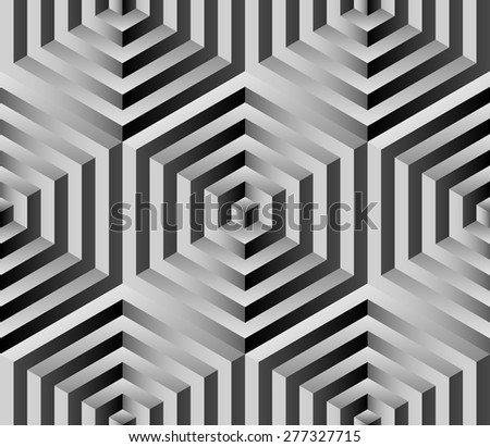 design element. vector seamless pattern - stock vector