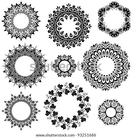 Design elements - stock vector