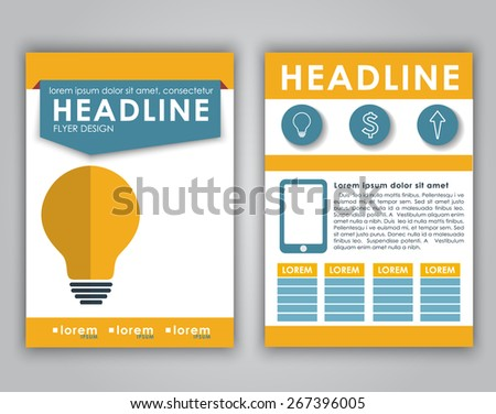 Abstract Paper Panel Banners Flat Design Stock Vector 155465303