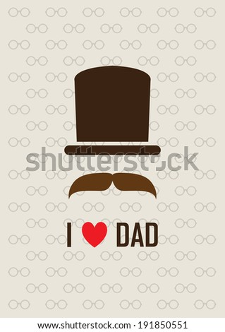 design greeting card for Father's day