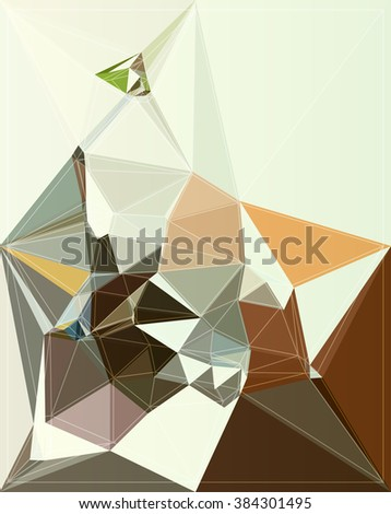 design modern color illustration triangle style graphic