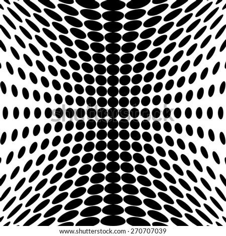 Design monochrome dots background. Abstract backdrop. Vector-art illustration. No gradient - stock vector