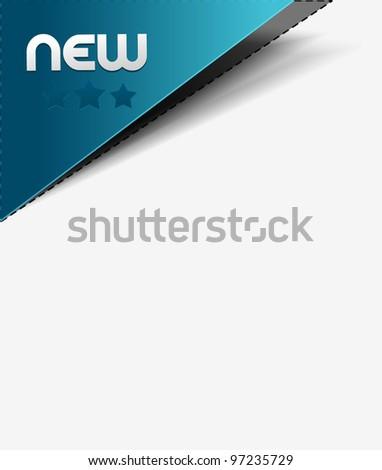 Design of advertisement labels stickers. - stock vector