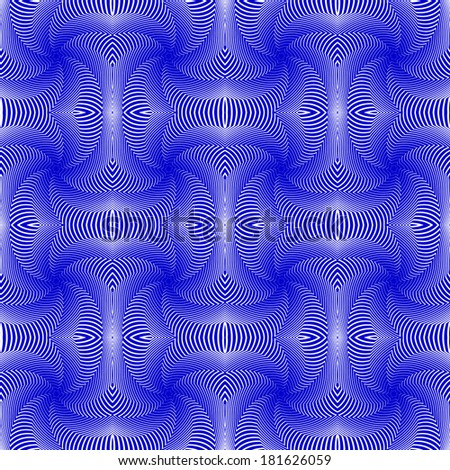 Design seamless colorful whirl motion pattern. Abstract decorative lines textured background. Vector art