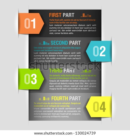 Design template. Fully editable vector. Can be used for any design. - stock vector