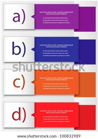 Design template vector - stock vector