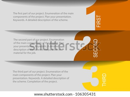 design templates - stock vector