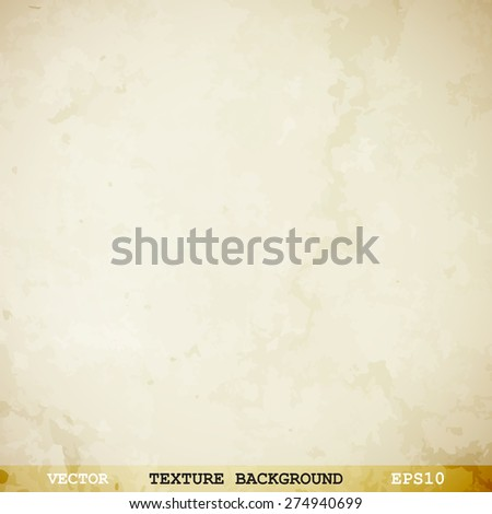 Designed grunge paper texture - Vector background - stock vector