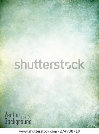 Designed grunge texture, vector background - stock vector