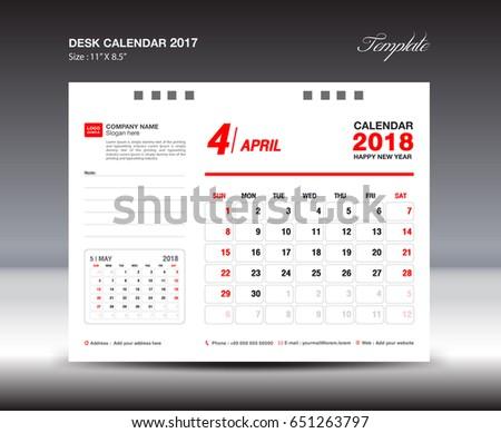 Desk calendar template 2018 year march stock vector 651263797 desk calendar template for 2018 year march week starts sunday stationery design saigontimesfo