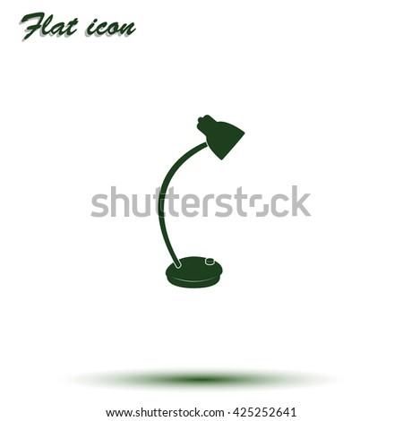 Desk Lamp Icon Vector 605724788 Shutterstock – Desk Lamp Logo