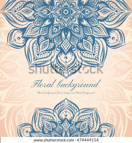 Detailed hand drawn background wedding invitations stock vector detailed hand drawn background for wedding invitations cardpackaging design package box stopboris Image collections