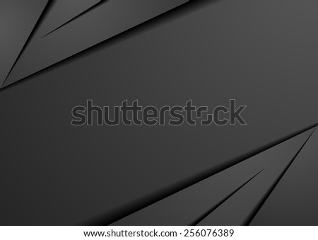 detailed illustration of an abstract dark background, eps10 vector - stock vector