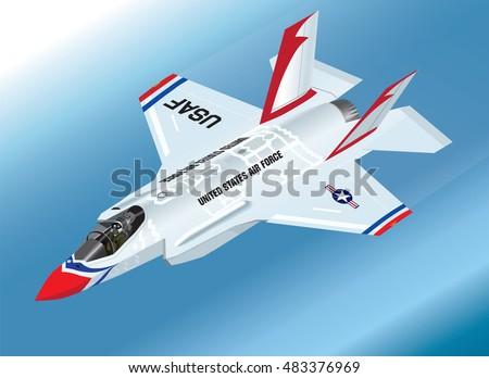 F 35 Lightning Ii Thunderbirds ... 35 Lightning II Fighter Jet in Thunderbirds Aerobatic Team Paint