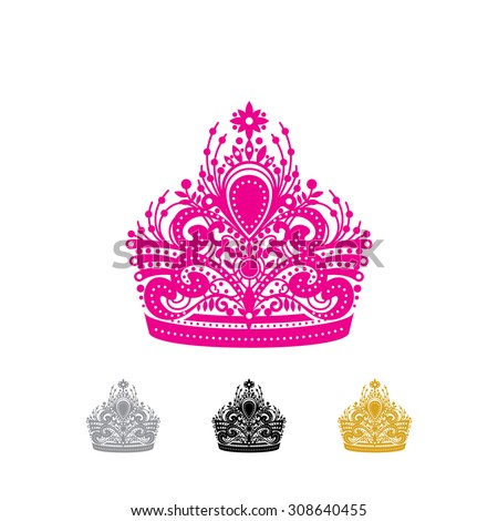 Beauty pageant logo vector - photo#9