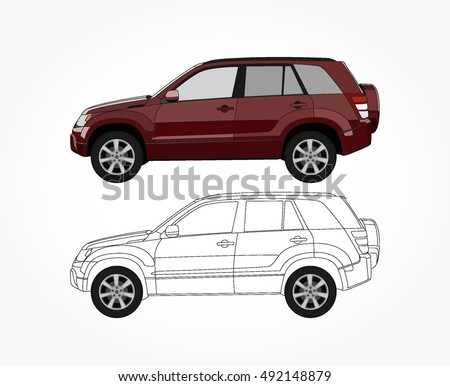 Suv Cars Stock Images Royalty Free Images Vectors Shutterstock