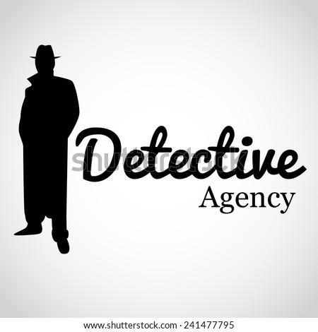 Detective Agency. Vector illustration. - stock vector