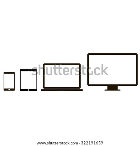 flat screen desktop computers with Tablet Pc on Gadget background besides Tablet pc further Desktop  puter icon moreover Stock Photo Laptop Set  puter Hand Drawn Sketch Doodle Engraved Illustration 150275062 together with
