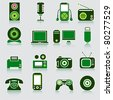 Device icons. Vector - stock vector