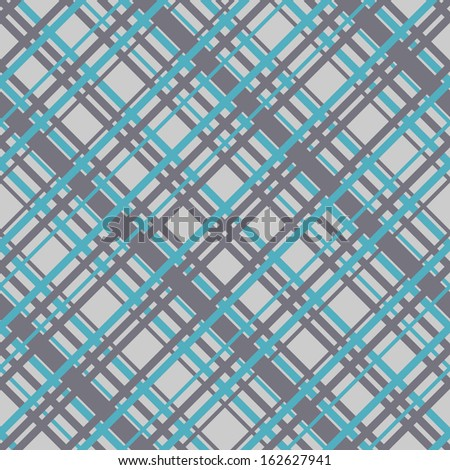 Diagonal lines background. Seamless pattern with wicker stripes. - stock vector