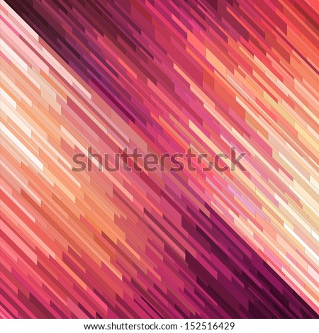 Diagonal mosaic background, vector eps8 illustration - stock vector