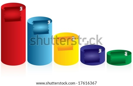 diagram - stock vector