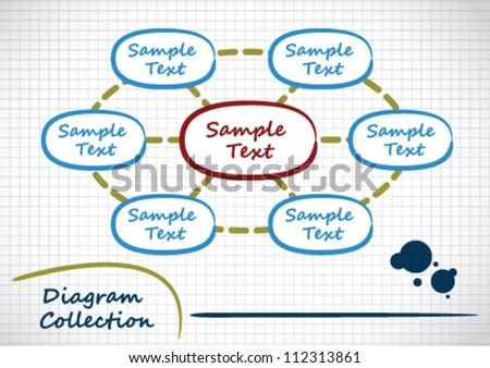 Diagram Collection - stock vector