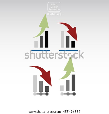 Diagram Icon. - stock vector
