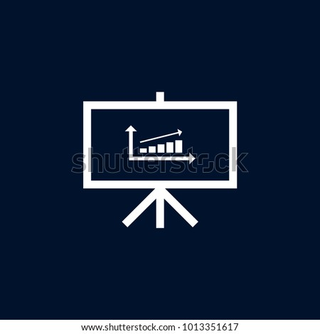 Diagram icon simple hr element illustration stock vector 1013351617 diagram icon simple hr element illustration office symbol design from business collection can ccuart Image collections