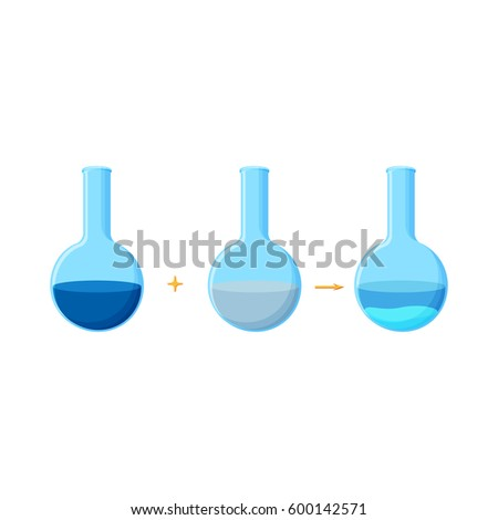 Diagram chemical experiment which shows reaction stock vector hd diagram of chemical experiment which shows the reaction between two soluble compounds with a formation of ccuart Gallery