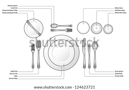 Formal Place Setting Stock Images, Royalty-Free Images & Vectors ...