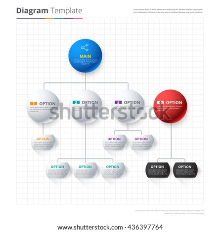 Diagram template organization chart template flow stock vector diagram template organization chart template flow stock vector 436397764 shutterstock ccuart Image collections