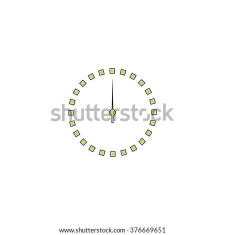 Dial clock Icon Vector. Dial clock Icon JPEG. Dial clock Icon Picture. Dial clock Icon Image. Dial clock Icon Art. Dial clock Icon JPG. Dial clock Icon EPS. Dial clock Icon AI. Dial clock Icon Drawing - stock vector