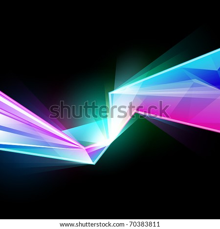 Diamond abstract background - stock vector