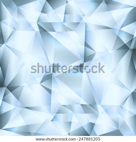 Diamond abstract vector jewelry background concept - stock vector
