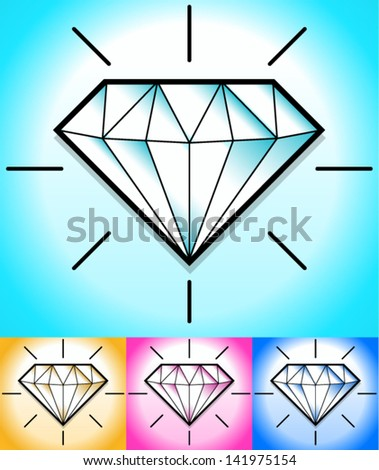 diamond clipart background s stock vector 141975154 shutterstock rh shutterstock com clipart diamond in the rough clip art diamond shape