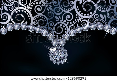 Diamond Flower Stock Images Royalty Free Images Amp Vectors