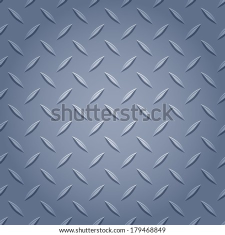 Diamond metal background - gray color.