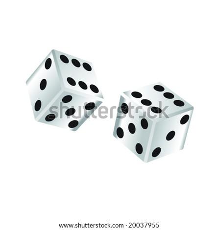 dice - stock vector