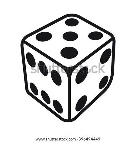 Dice game Icon, Dice game Icon Eps10, Dice game Icon Vector, Dice game Icon Eps, Dice game Icon Jpg, Dice game Icon Picture, Dice game Icon Flat, Dice game Icon App - stock vector