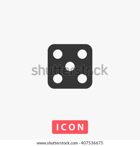 dice Icon. dice Icon Vector. dice Icon Art. dice Icon eps. dice Icon Image. dice Icon logo. dice Icon Sign. dice Icon Flat. dice Icon design. dice icon app. dice icon UI. dice icon web. dice icon gray - stock vector