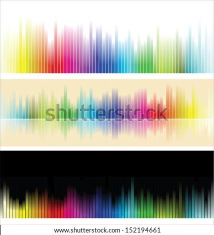 Different colorful background - stock vector