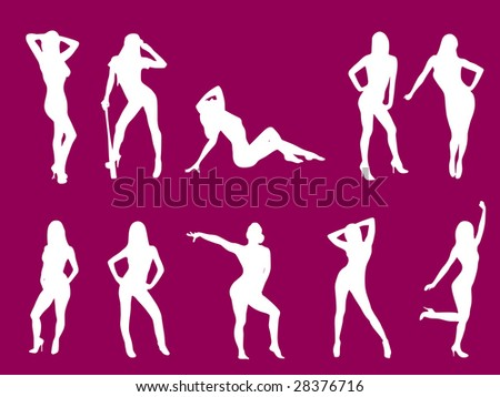 Different situations - stock vector