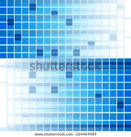 Digital abstract blue vector background or texture. wallpaper