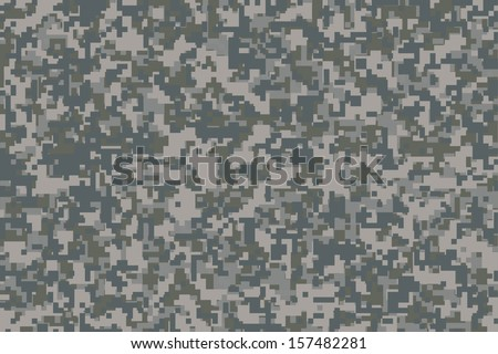 digital camouflage for the background - stock vector