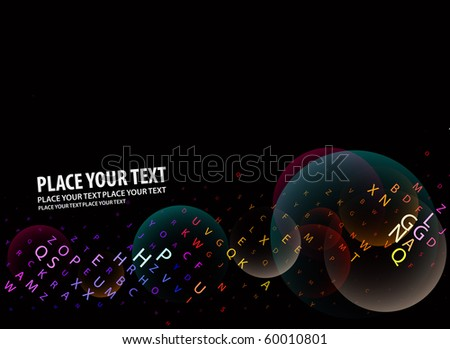Digital program code, vector illustration. - stock vector