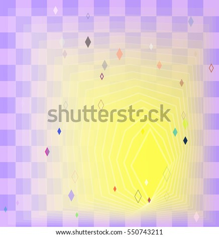 digital system of confusion, gem vector background with pretty elegance
