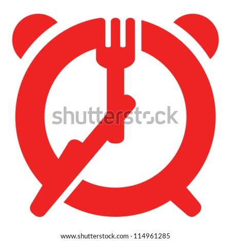Dinner Sign Dinner Time Sign Fork And