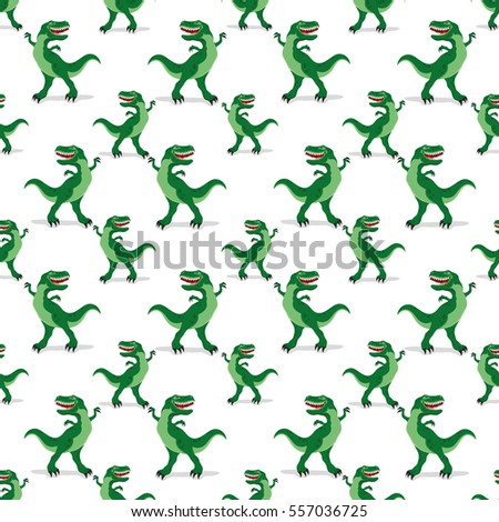 Dinosaurs on a white background.
