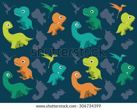 Baby dinosaur stock images royalty free images vectors shutterstock - Paperboy dinosaur wallpaper ...